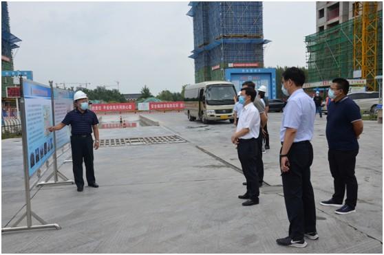 市政协领导莅临隆城香堤二期、市救助管理站项目开展民主监督